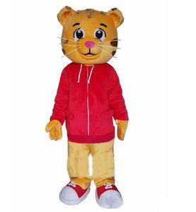Горячая горячая распродажа тигр, таких как меховые костюмы Daniel пирожные талисман тигр 2018 продать Daniel Costume талисман NTPUP