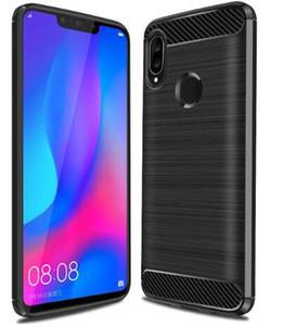Для Huawei P20 Lite / P20 P30 P40 Pro P30 Lite Face Armor Slim Protection Fiber Soft TPU Телефон Силиконовая резина Huawei Nova 3 3i Cover