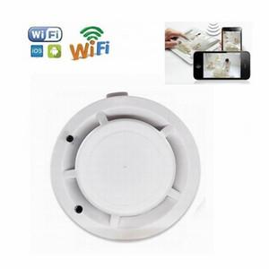 HD WiFi детектор дыма микро камера 4K детектор дыма видеомагнитофон с реальной дымовой камеры безопасности обнаружения функция семьи