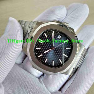 Фабрика продаж Новые Мужские Автоматическое движение 40 мм Часы Спорт Dive Full Steel Nautilus Classic 5711 / 1A Часы Прозрачные задние наручные часы