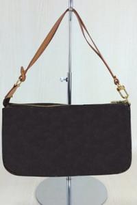 Moda Pochette Cadenas Handbag Brand Real Cuero Lienzo Hombro Crossbody Bolsos M40712 Damier Vintage Mahjong Eva Empla Bolsas