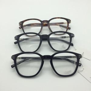 2020 Рамки New Eye Glasses для мужчин очки кадр Золото Серебро TR90 Оптическое стекло Предписание очки Full Frame