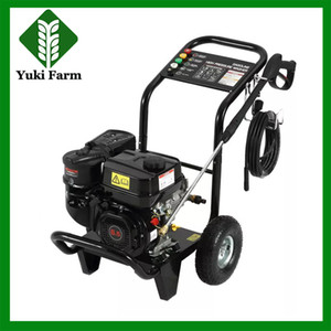 Gasoline high pressure washer 6.5HP large fuel tank 150bar inflatable wheel road clean pressure washer car washer