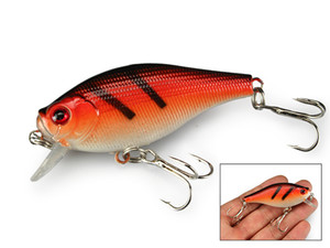 30PCS FISHING LURES CRANKBAIT HOOKS 7.5g 6.5cm