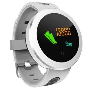 Q8 Pro Smartband Heart Rate Smart Band IP68 Водонепроницаемый поддержка Мониторинг Кровяного Давления Погода Push Фитнес-Браслет Band