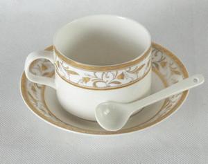Cuillères en céramique de mini cuillère à café de miel de porcelaine qui respecte l'environnement en céramique 50pcs / Lot 10cm