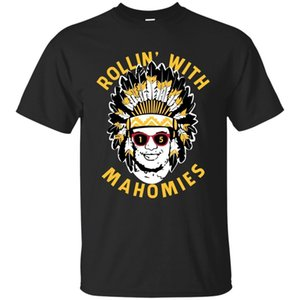 Camiseta Rollin 'With Mahomies Men Awesome Black Navy Color S-5XL