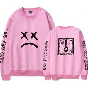 Lil Peep Capuz Rosa Homens Streetwear Hip Hop Legal Man Rap Estrelas Pullovers Gráfico Hoodies Casais Camisola Roupas de Marca 4XL
