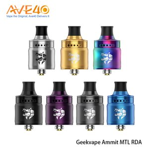 100% Authentic Geekvape Ammit MTL RDA 3D Airflow System 12 Airflow Adjusting Options Offered From Everzon