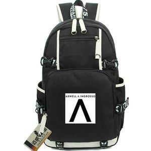 Axwell Ingrosso рюкзак больше, чем вы знаете рюкзак логотип школьный DJ музыка ранец качество рюкзак спортивная школа сумка из двери день пакет