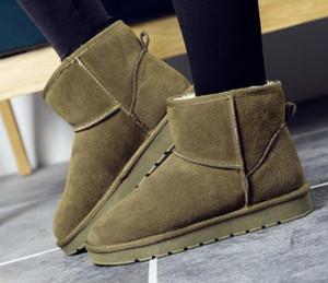 Fornitura Drop Shopping New fashion WGG donna ragazza Stivali da neve Stivali invernali Scarpe calde Stivali in pelliccia di alta qualità originali taglie eur36-45