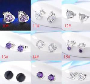 Nueva joyería de moda de alta calidad, pendientes de plata esterlina S925, pendientes de mujer de moda coreana por mayor envío gratuito MOQ 50 pcs