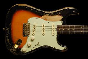 Özel Mağazalar Mesterbuilt Mike McCready Sahibi El Yapımı Relic Yaşlı 1959 Hafif Kızılağaç Kanada Akçaağaç Boyun Elektro Gitar