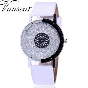 Moda mujer reloj de pulsera de lujo casual de cuero caramelo reloj de cuarzo Relogio Feminino regalo reloj gota envío