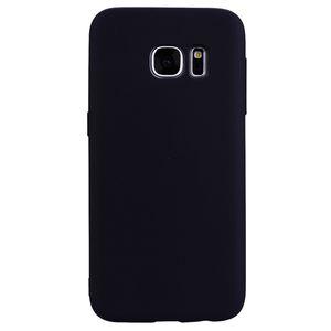 Para Samsung Galaxy S6 Funda Cubierta Trasera Suave TPU Serie de color Caramelo Diseñador Ultrafino Mobie Funda para Teléfono Capinha