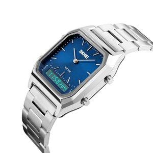 Wengle Novo Relógio De Pulso Digital Relógio de Alarme calendário dia Cronógrafo Resistente À Água À Prova D 'Água LED Noctilucent Cronômetro relógio eletrônico