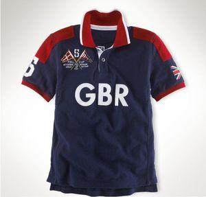 Bordados Regatta Sailing Curto homens manga poloshirt tshirt EUA França Itália Grã-Bretanha camisetas M L XL 2XL dropshipping