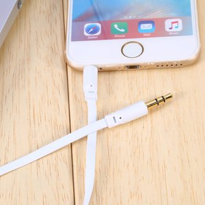 3.5mm jack Audio Cable male to male 1M Car Stereo Audio Auxiliary AUX Cable MP3 Mobile Phones Earphone Headphone Cords
