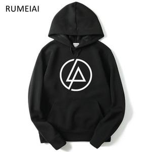 Homens Galaxy Linkin Park Camisolas Homens / Mulheres Hoodies Com Chapéu de Impressão Outono Inverno Solto Fino Com Capuz Com Capuz Tops de Alta Qualidade