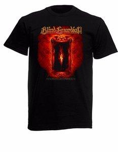"""Blind Guardian 01 Mens Black Rock T camisa nuevos tamaños S - Xxxl """"Mangas cortas de algodón camiseta de moda envío gratis"""""""