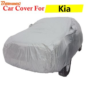 Buildreamen2 Car Cover Auto Outdoor Anti-UV Pioggia Neve Polvere Copertura antigraffio per Kia Soul Optima Ceed K9 Picanto