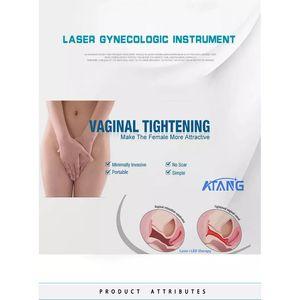 La santé des femmes au laser froid au massage vaginal, irrigateur vaginal, douche vaginale, resserrement vaginal et vibratoire vaginal avec vibrateur