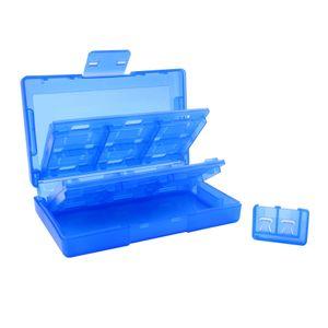 24 in 1 Portable Cartes De Jeu Cas De Stockage + 2 Micro SD Fente Pour Carte D'extension pour NS Switch Boîte De Voyage Dur Shell Haute Qualité RAPIDE SHIP