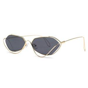 Occhiali da sole a personalità Random di design unico Unisex Street per occhiali da sole alla moda protezione UV