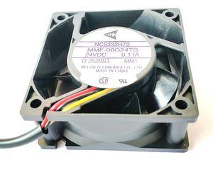 미쓰비시 E500 CA1027H09에 대한 새로운 원래의 인버터 팬 MMF - 06D24ES FC4 24V 60 * 60 * 25 MM MMF - 06G24TS MM1