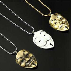 Collane del pendente degli uomini di stile di Hip Hop della collana di dichiarazione della maschera di VENDITA