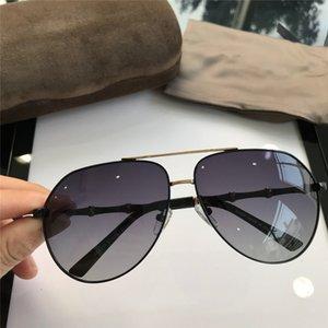 المرأة الرجل مربع 2268S النظارات الشمسية واضح بريق الإطار رمادي موضة النظارات الشمسية للنساء الجديدة مع مربع NUMGG180926-60