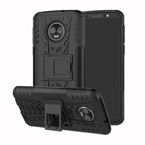 Tough Armor Shockproof Cover für Motorola Moto E5 und Z3 spielen E5 G6 X4 G6 Plus G5s und G5s Heavy Duty Rugged Dazzle Hybrid Hard Case