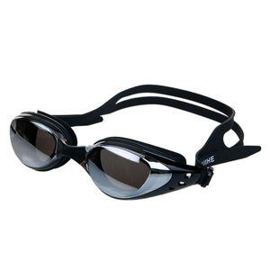 السباحة الرياضة نظارات مكافحة الضباب فوق البنفسجية حماية للماء بالكهرباء الرجال النساء نظارات السباحة المهنية