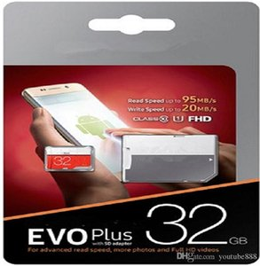 2020 EVO 100% REA h2testw 8GB 16GB 32GB 64GB 128GB NEW Genuine EVO Plus Micro SD SDHC UHS-I Class 10 Memory Card