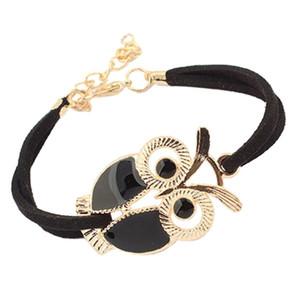 Момент # L05 2018. 1PC Корейский моды рынк девушки Vintage украшения Искусственные кожаные браслеты