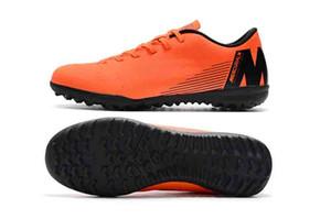 лучшее качество дешевые мужские дерн футбольные бутсы крытый футбол обувь низкий топ VAPORX 12CLUB в TF футбольные бутсы новое прибытие