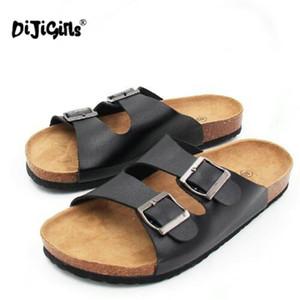 Dijigirls Flip Flop Yaz Yumuşak Cork Slaytlar Sandalet Terlik Kadın Severler Rahat Plaj Ayakkabıları Sandalias Zapatos Mujer Bırak gemi