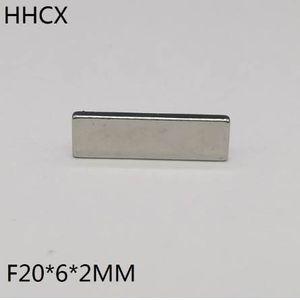 10pcs / lot F 20x6x2 mm N35 강력한 광장 NdFeB 희토류 자석 20 * 6 * 2 mm 네오디뮴 자석 20mm x 6mm x 2mm