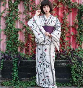 Oryantal Asya geleneksel standart kimono bornoz japon havai fişek kimono saf pamuk yukata obi çiçek eski gece elbisesi