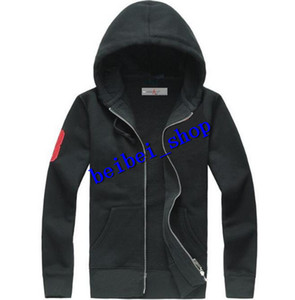 Free Shipping 2018 New Hot Sale Mens Polo Hoodies And Sweatshirts Autumn Winter Casual With A Hood Sport Jacket Men's Hoodies
