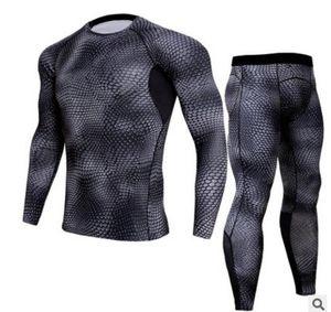 2017 Außenhandel neue Geschwindigkeit trocken Anzug Männer Fitness Kleidung, atmungsaktive trockene Kleidung langärmelige enge Kleidung