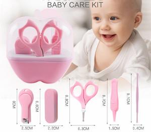 Conveniente Cuidado de las uñas del bebé Aseo Práctico Recortador de las podadoras Daily Baby Cepillo para el cabello Conjunto de cuidado del bebé Kits de salud Clipper Scissor