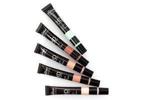 Popfeel Concealer Invisible Cover Primer Concealer Cream Face Eye Make Foundation Contour Palette 5 Colors DHL freeshipping