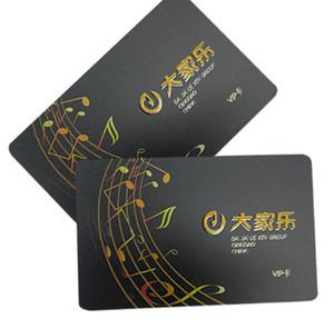 Fabrika fiyat mat laminasyon spot UV plastik sadakat VIP kartı
