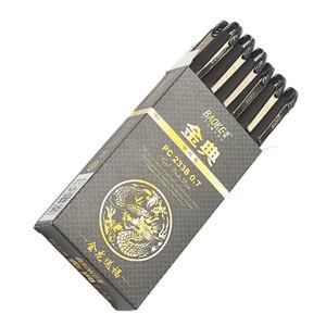 Bolígrafos especiales de 0,5 mm de gel negro para lápices especiales de papelería escolar Plumas de tinta de gel exquisitos y exclusivos para artículos de escritorio de oficina