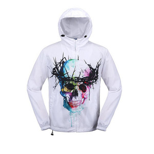 Halloween Cloudstyle Herren Winterjacke Casual Style 3D Druck Outwear Winter Herren Jacke Langarm Sportwear Warm Zipper Hoodies