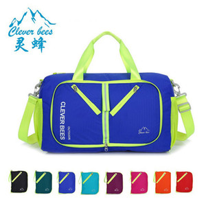 20-35L çanta NoEnName-Null Büyük kapasiteli multi-fonksiyonel taşınabilir spor paketi Katlanabilir omuz çantası Takım eğitim çantası
