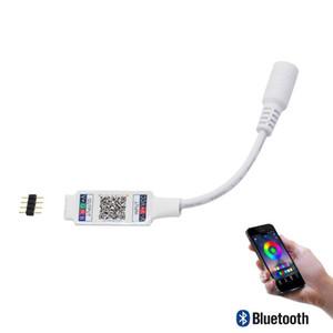 WiFi Bluetooth Musique RGB Contrôleur DC5-24V Mini Contrôleur Intelligent De Bande De Lumière Dimmer Pour 5050 3528 RGB LED Bande De Bande