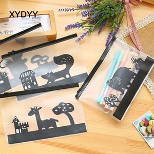 XYDYY Casual Lady Cosmetic Bags Forest Squirrel Elephant Animals Women Wash Cosmetici Custodie per borse da trucco per ragazze