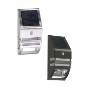 Solar LED Sensor Lamp waterproof 2 LED 120LM PIR Solar Motion Garden Yard Outdoor Wall Pathway Balcony Porch Fence Lights